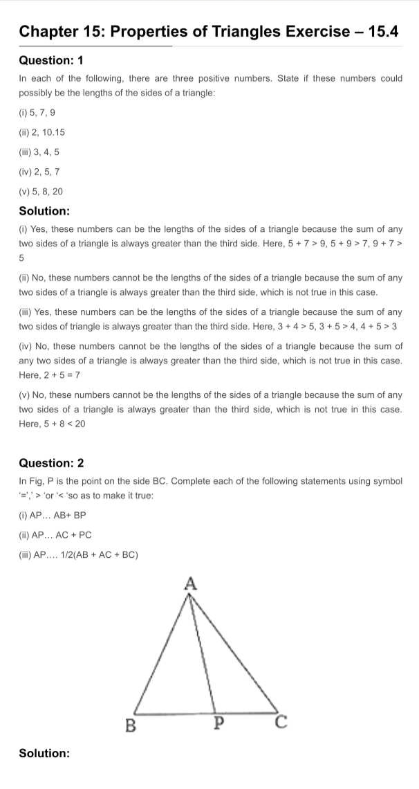 RD Sharma Solutions For Class 7 Maths Chapter 15